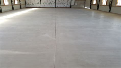 How To Seal Basement Concrete Floor by Pole Barn Concrete Floor Option Premier Concrete