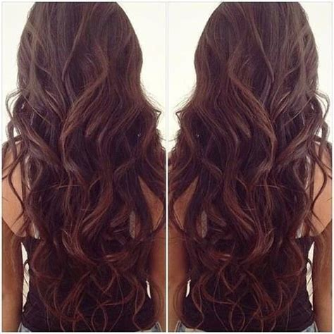 getting hair curled and color luxy hair extensions fan photo courtesy of esterbrii