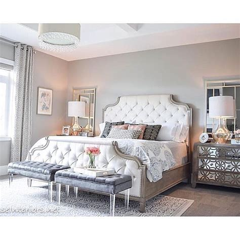bedroom with tufted headboard 17 best ideas about tufted headboards on pinterest