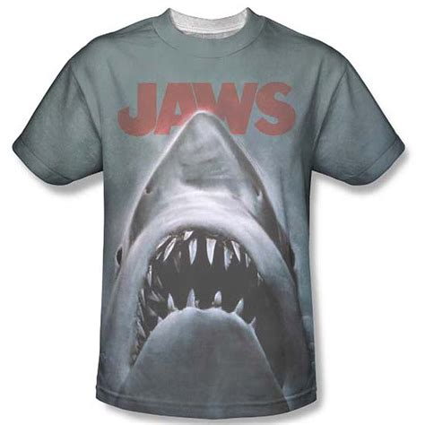 Home Design Express Llc by Jaws Movie Poster Sublimation T Shirt