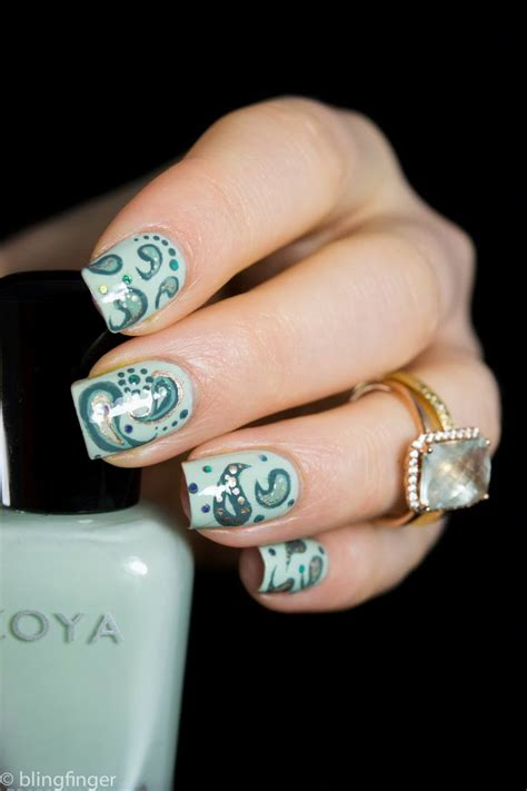 paisley pattern nails 104 best images about paisley print nails on pinterest