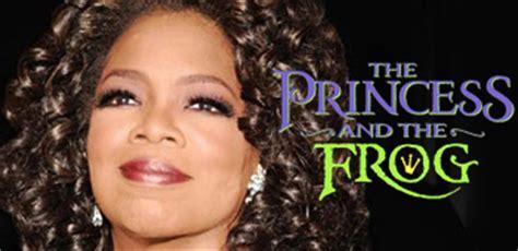 oprah winfrey voice over oprah to voice eudora in disney s the princess and the