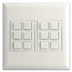 touch plate switch low voltage classic 12 button