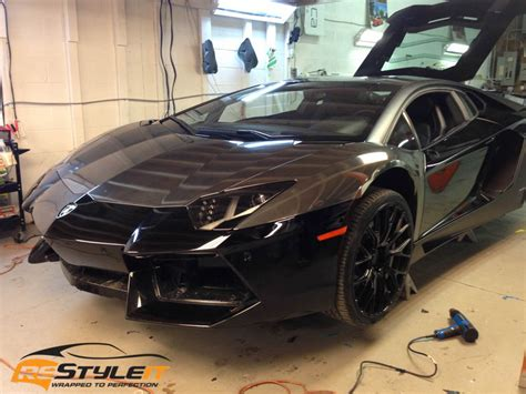 black chrome lamborghini black chrome lamborghini aventador vehicle customization