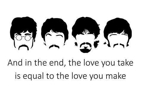Kaos The Beatles Logo Stencil f o s quot beatles quot road black and white