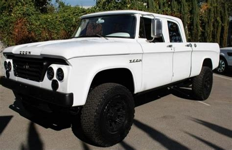 icon 4x4 d200 icon 1965 dodge d200 crew cab recreation ebay motors