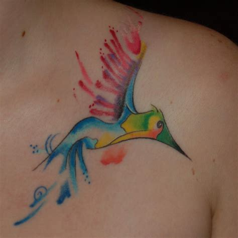 tribal bird tattoo meaning 80 best watercolor hummingbird meaning and