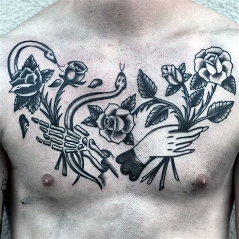 life and death tattoos 50 designs for masculine ink ideas