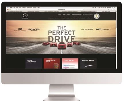 mazda website mazda qatar website launched