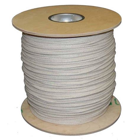 Cotton Rope Home Depot by T W Cordage 6 3 16 In X 1200 Ft Buffalo Cotton
