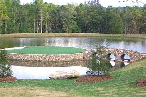 backyard golf course design tour greens backyard golf courses