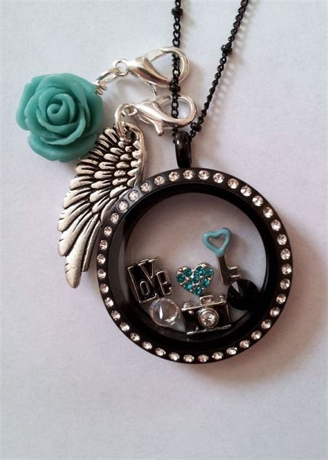 black origami owl locket discover and save creative ideas