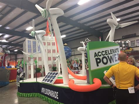 Indianadg Working To Promote Renewable Energy And Indiana Reels From Parade Float