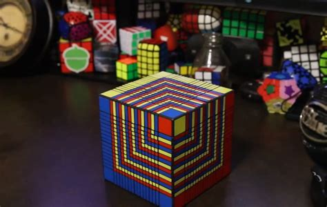 New Item Cubic Puzzle 3d Great Wall Large Size the world s largest rubik s cube comes to i materialise