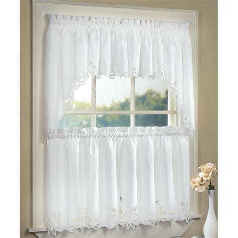 Buy Kitchen Curtains Buy Valance Curtains Pastoral Beige Embroidery Splicing Buy Window Curtains No Pastoral