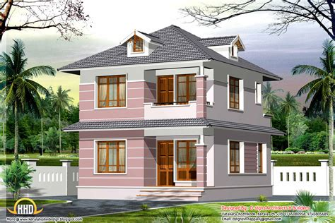 1600 square small home design kerala home design