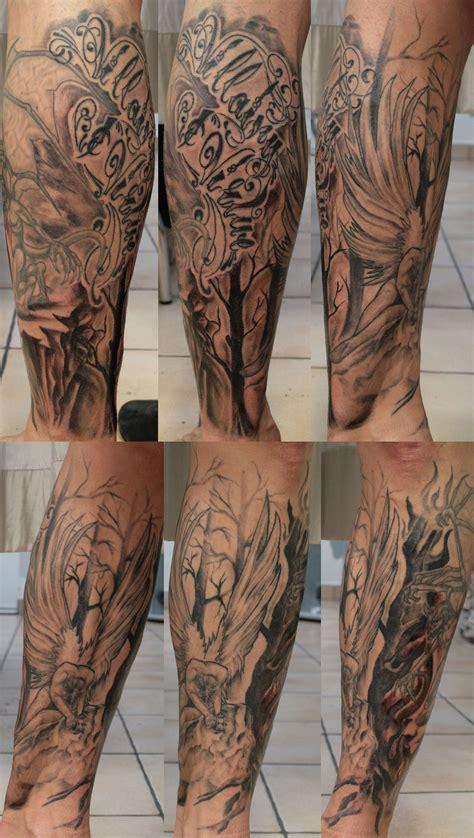 dragon tattoo leg sleeve best dragon leg sleeve tattoo design idea for men and women