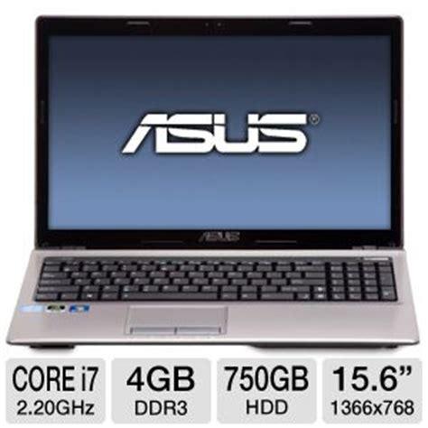 asus a53sd ts71 laptop computer 2nd intel i7 2670qm 2 20ghz 4gb ddr3 750gb hdd