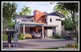 2 Storey House Design Philippine House Design Two Storey House Design