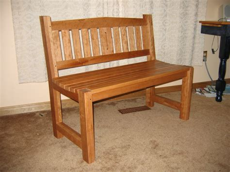 seated bench two seat bench