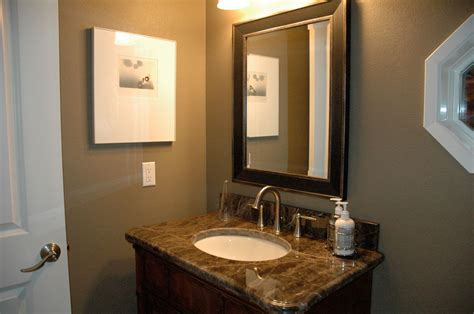 powder room remodel bellevue condo harjo construction