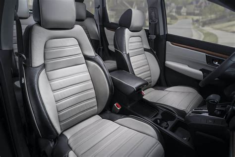 2017 honda crv with leather seats katzkin honda crv gray leather seats interior katzkin
