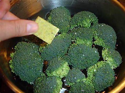 comment cuisiner des brocolis surgel駸 comment cuire les brocolis