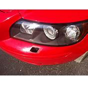 Broken Headlight Washer Cover  Need Replacement Volvo