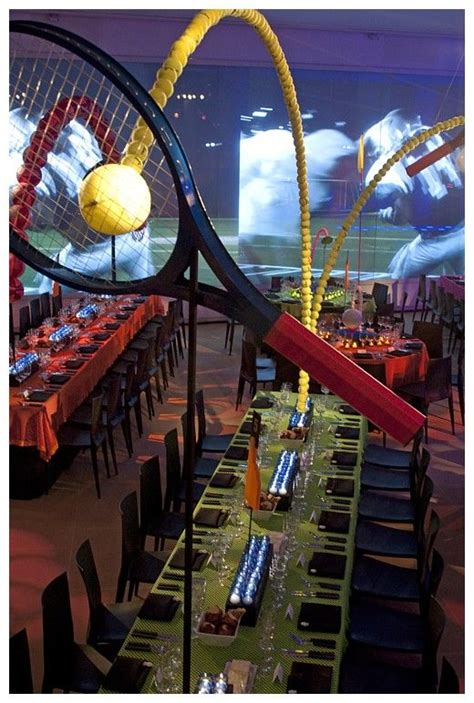 tennis themed events sports decor bar mitzvah and sports on pinterest