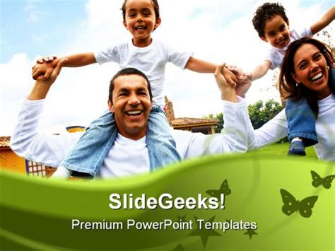 Happy Family Powerpoint Backgrounds And Templates 1210 Powerpoint Templates Family