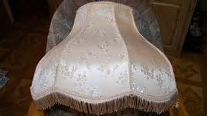 Vintage large victorian lamp shade with fringe 19 by pohlmans