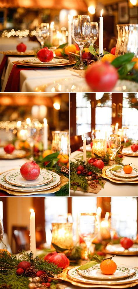 Romantic Christmas Wedding Tablescape   The Pink Bride