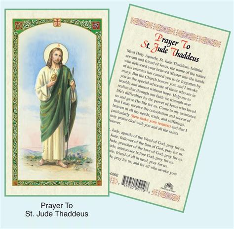 how to make a prayer card catholic prayer cards