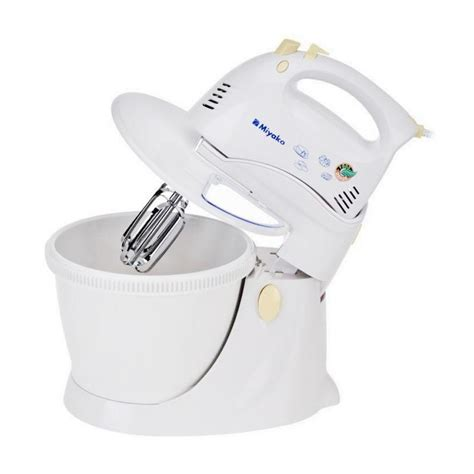 Promo Miyako Sm625 Putih Stand Mixer 3 5 L Berkualitas jual miyako sm625 stand mixer putih 3 5 l