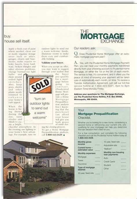 Loan Newsletter prudential home mortgage newsletter jerry mctigue
