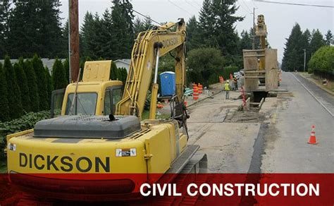 civil contractor dickson company washington state demolition experts