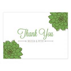 sweet succulent thank you card crafty pie press