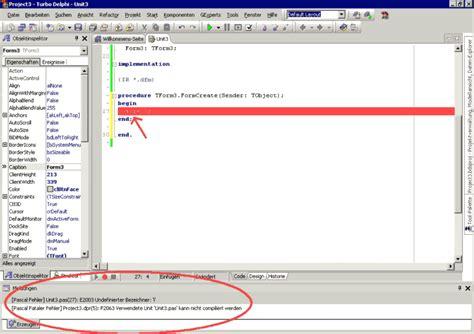 delphi exception tutorial fehlermeldungen delphi treff