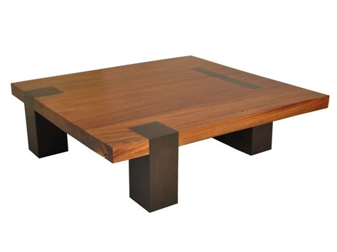 square tamburil coffee table walnut legs by