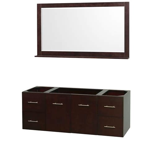 Combine Home Depot Gift Cards - wyndham collection centra 59 in vanity cabinet with mirror in espresso