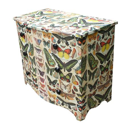 Butterfly Chest Of Drawers butterfly chest of drawers by bryonie porter notonthehighstreet