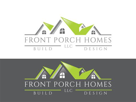 home design builder home builder logo design for front porch homes llc by