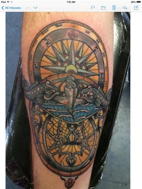 submarine tattoo designs submarine dolphins on compass and astrolabe by jeremiah