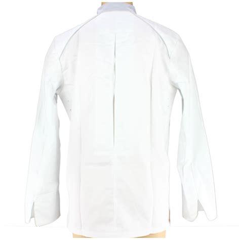 veste cuisine homme veste de cuisine homme manches longues blanche et liser 233 gris