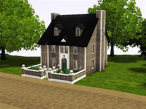 how to buy house in sims 3 sims 3 cute stone house by simsrepublic on deviantart