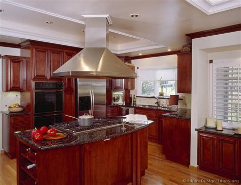 Cherry Wood Kitchen Cabinets by Cherry Wood Kitchen Cabinets Traditional Wood