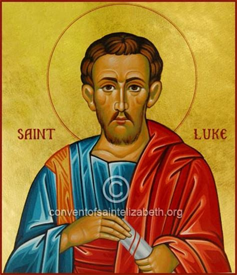St Luke S Detox by Convent Of St Elizabeth Icons Printed L