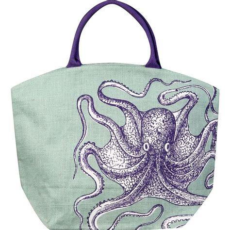 Octopus Bag S octopus jute bag