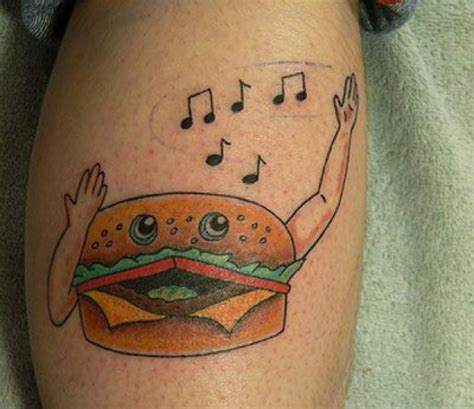 twenty five terrible food tattoos banned in hollywood