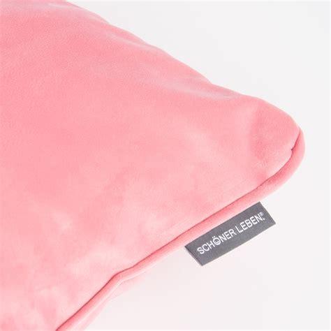 kissen pastell rosa bezugsstoff polsterstoff samtstoff samt pastell rosa